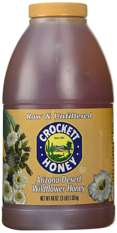 Crockett Honey Raw and Unfiltered Arizona Desert Wildflower Honey 1