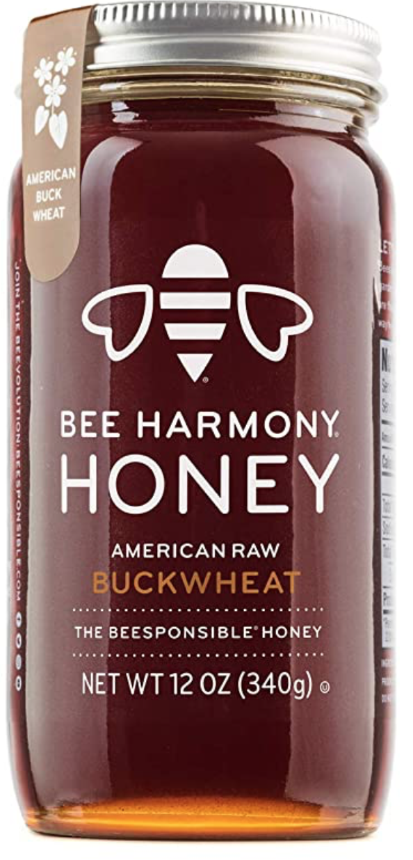 Bee Harmony American Raw Buckwheat Honey
