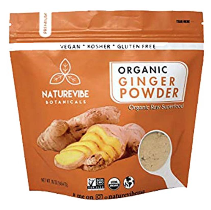 Naturevibe Botanicals Organic Ginger Root Powder