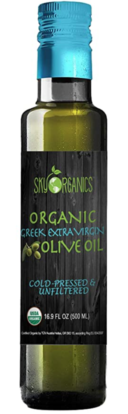 Organic Extra Virgin Olive Oil Sky Organics